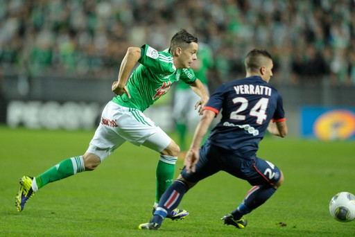 FOOTBALL : Saint Etienne vs Paris Saint Germain - Ligue 1 - 27/10/2013