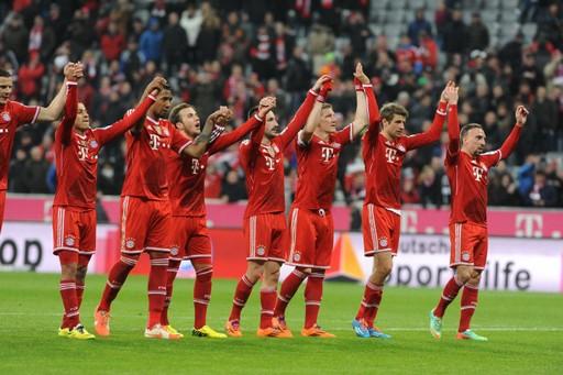 FOOTBALL : Bayern Munich vs Bayer Leverkusen - Bundesliga - 15/03/2014