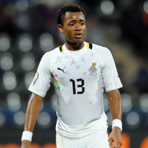 Jordan Ayew of Ghana © Pic Sydney Mahlangu/BackpagePix