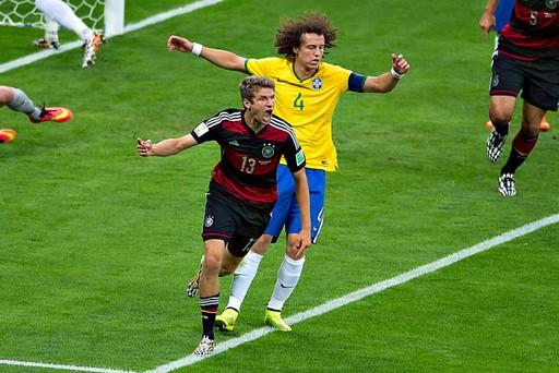 FOOTBALL : Bresil vs Allemagne - Coupe du Monde - Demi-finales - Belo Horizonte - 08/07/2014